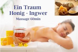 Honig Ingwer Massage